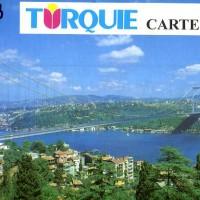 TURQUIE CARTE TOURISTIQUE