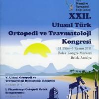 22. Ulusal Türk Ortopedi ve Travmatoloji Kongresi, Program Kitabı