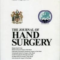 The Journal Of Hand Surgery, Cilt 36E, Sayı 4, Mayıs 2011