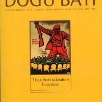Doğu Batı – Düşünce Dergisi  Yıl:15, Sayı:59 (Kasım-Aralık-Ocak 2011-2012)