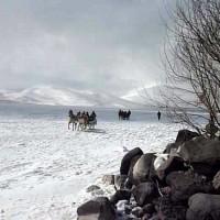 Kars – Çıldır Gölü'nde Atlı Kızak Gezisi